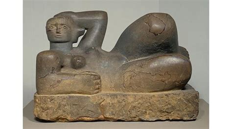 a history of the world object reclining figure