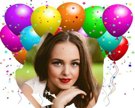 fotomontajes de feliz cumplea os fotomontajes infantiles marcos fotomontaje de cumplea 241 os con globos hacer fotomontajes