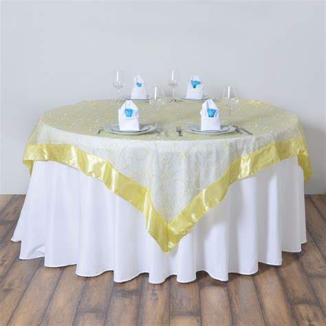 organza table overlays embroidered sheer organza table overlays wedding reception decorations