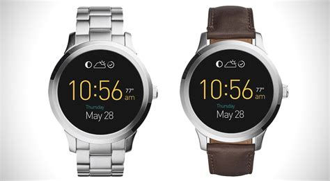 Smartwatch Fossil Q Founder Fossil Q Founder Smartwatch Hiconsumption