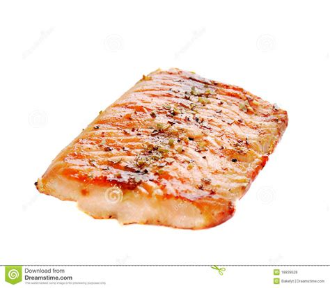grilled salmon royalty free stock photos image 18839528