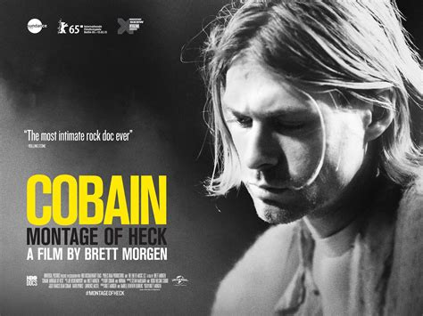biography of kurt cobain movie film review cobain montage of heck
