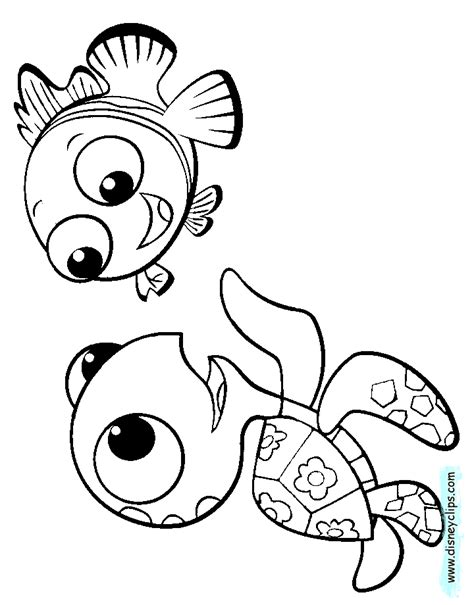 finding nemo coloring pages disney coloring book