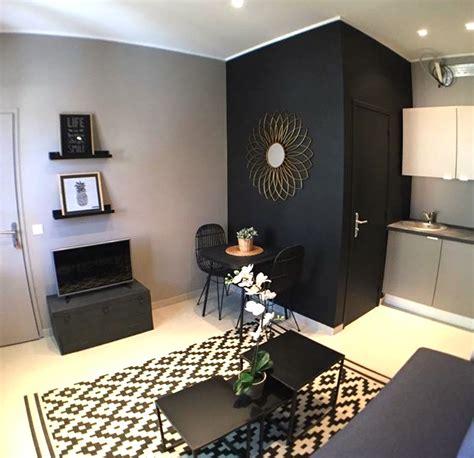 Salon Chaise Rotin Noir Studio L