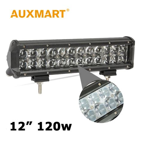 Car Light Bar by Aliexpress Buy Auxmart 12 Inch 120w Cree Chips Led