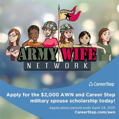 awn jobs application deadline for military spouse scholarship