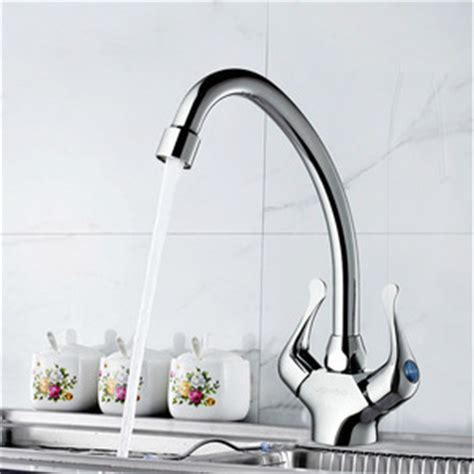 cheap high arc vintage cross handle rotatable kitchen faucet old full rotatable wall mounted kitchen sink faucet