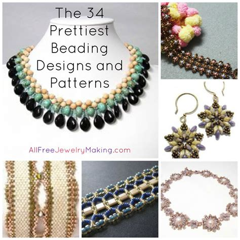 free jewelry projects beader s digest the 34 prettiest beading designs and