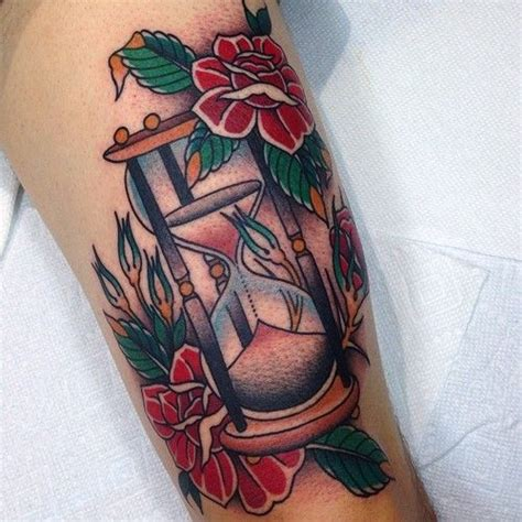 shaun tattoo design by shaun topper tradicional tattoos hourglass