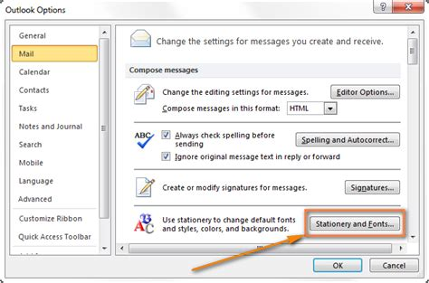 outlook html email templates create email templates in outlook 2016 2013 for new