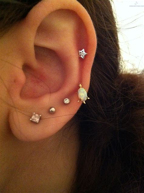auricle piercing pictures and images page 12