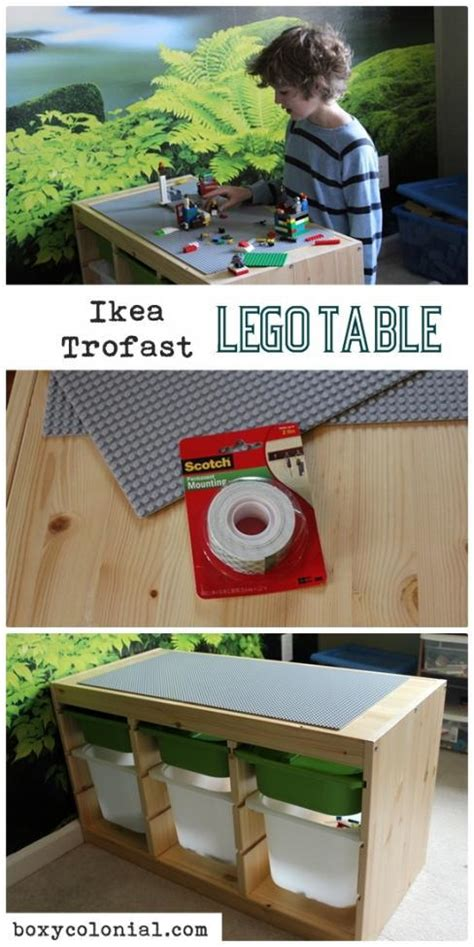 lego table diy ikea 28 lego tables with storage we spaceships and laser beams