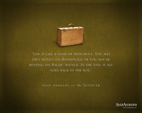 the noticer by new york times bestselling author andy andrews