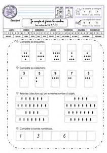 section 13 1 a fiches de travail gs numeration p 233 riode 2 la classe de