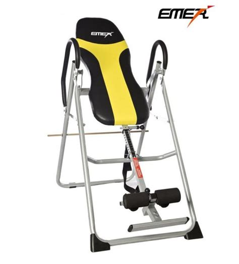 Emer Inversion Table by Emer Foldable Premium Gravity Inversion Table Emermi 02n