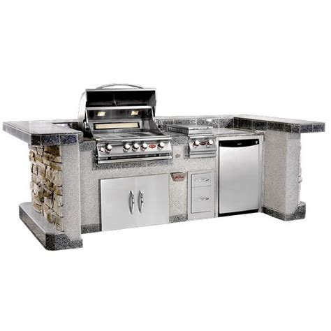 kitchen island grill cal flame pv6020 bbq grill island