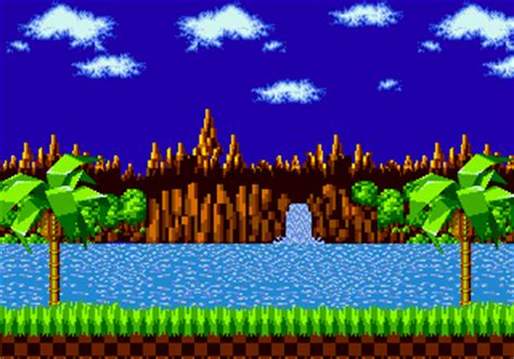 green hill zone gif background  gif images