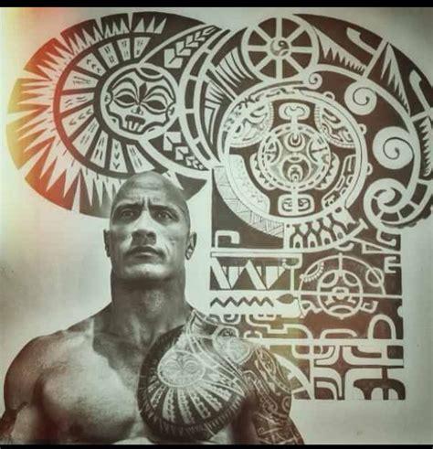 tattoo de dwayne johnson significado dwayne quot the rock quot johnson polynesian tattoo tatuajes
