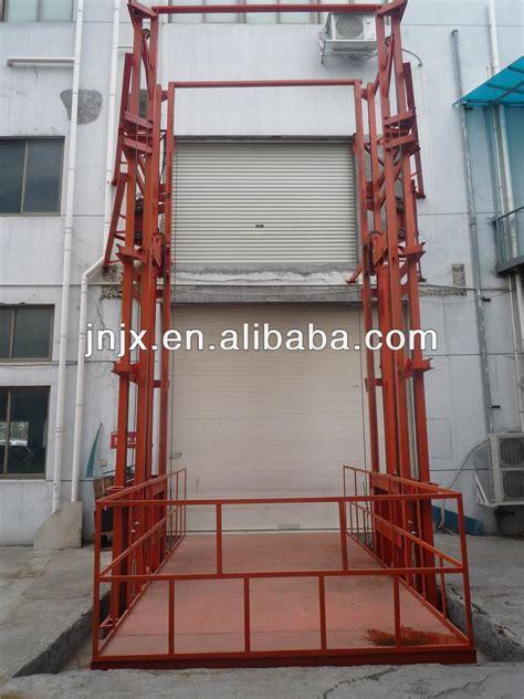 Cargo Lift Lift Barang Elevator rantai angkat vertikal platform lift barang murah harga tabel angkat id produk 1551037913