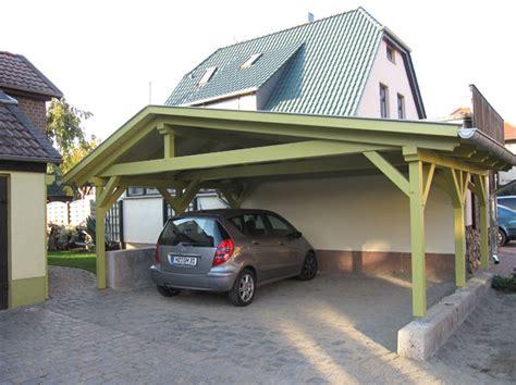 aus carport garage machen carport holzvordach tischlerei holz co aspenstedt bei