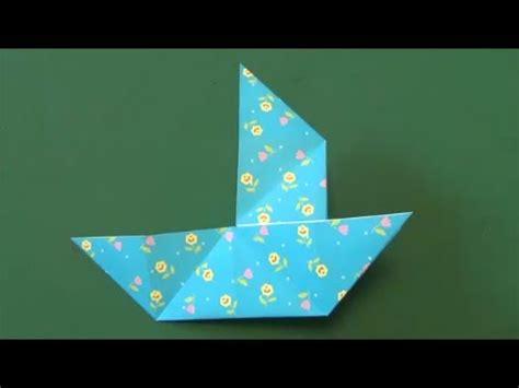 origami boat trick だましぶね 折り紙 quot trick boat quot origami youtube