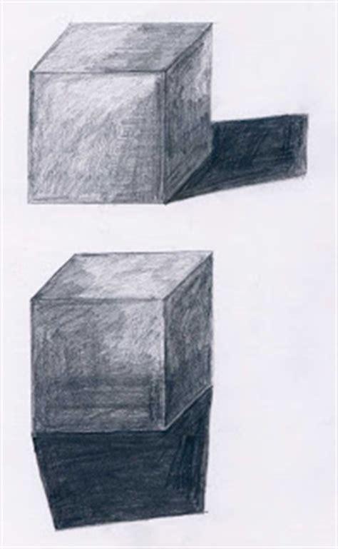 bayangan benda belajar menggambar