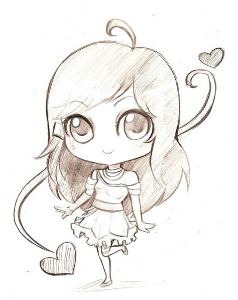 how to draw doodle using photoscape chibi drawings pesquisa anime chibi