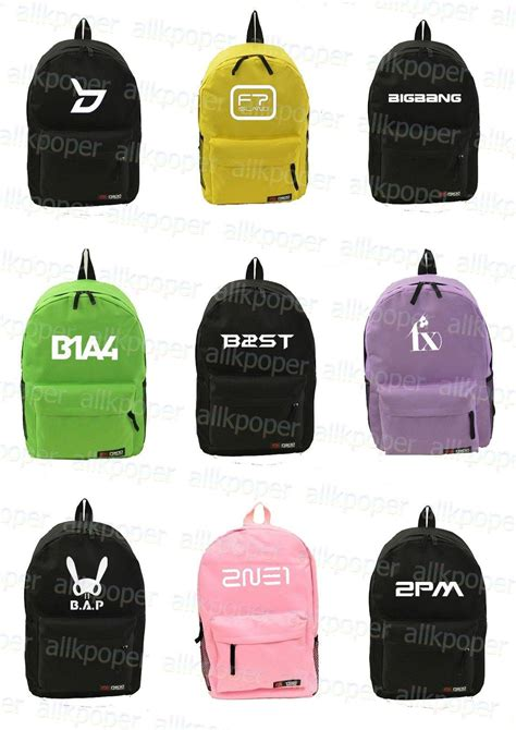 Backpack Beastkpop kpop logo backpack kpopmerchandiseworld