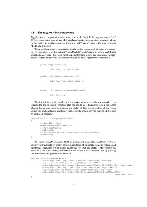 swing mvc tutorial java swing custom gui mvc component tutorial