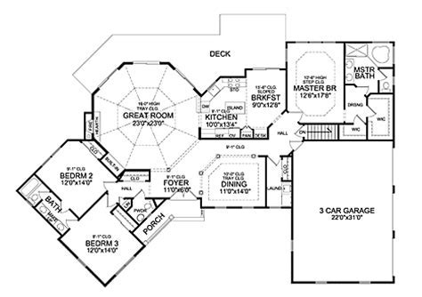WINSTON 3 CAR 5241   3 Bedrooms and 2 Baths   The House