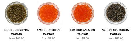 what color is caviar what is the difference between black caviar and caviar