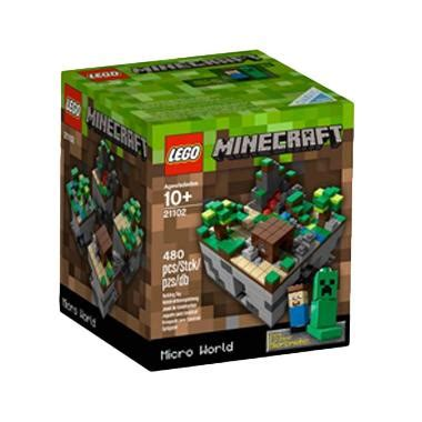 Minecarft Creeper For Windows Iphone Dan Semua Hp jual lego 21102 minecraft the forest mainan blok puzzle