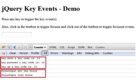 keypress event javascript phpsourcecode net