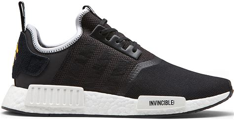 Adidas Nmd R1 Neighborhood Black White neighborhood x invincible x adidas nmd r1 black