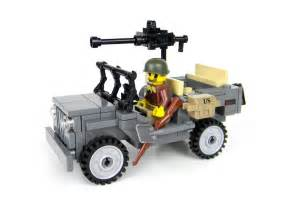 Jeep Lego Set Willys Jeep World War 2 Army Builder Complete Custom Set