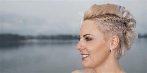 Brautfrisur Mit Kurzen Haaren by Brautfrisuren F 252 R Kurze Haare Tipps Beispiele