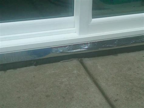 Sill Pan For Patio Door Door 20120920 182005 Jpg Installing Sill Pan For New Patio Door