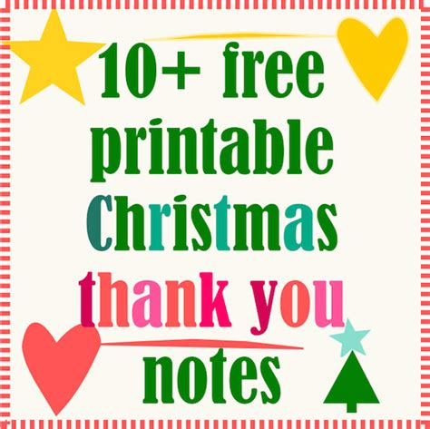 printable thank you holiday cards free 10 free printable christmas thank you notes