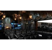 The Batcave A Superfan Has Spent &163129million Creating Home Cinema