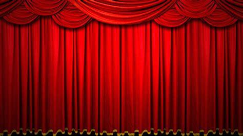hd freefootage 無料素材 赤いカーテン 緞帳 drop curtain youtube