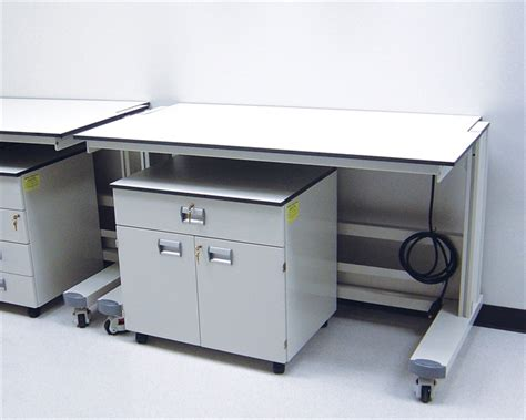 mobile lab bench ergolab mobile laboratory benching system a t villa