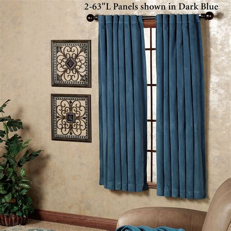 absolute zero curtains absolute zero velvet blackout home theater curtain panel