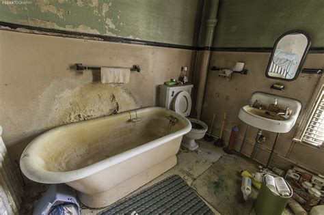 old bathroom old bathroom in abandoned house a deep bathtub and
