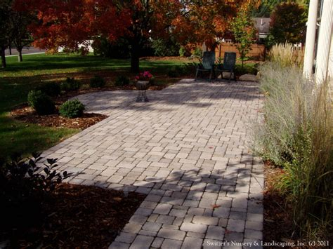Patio Interlocking Pavers Front Entry Interlocking Paver Patio Walk Traditional Landscape Minneapolis By Switzer