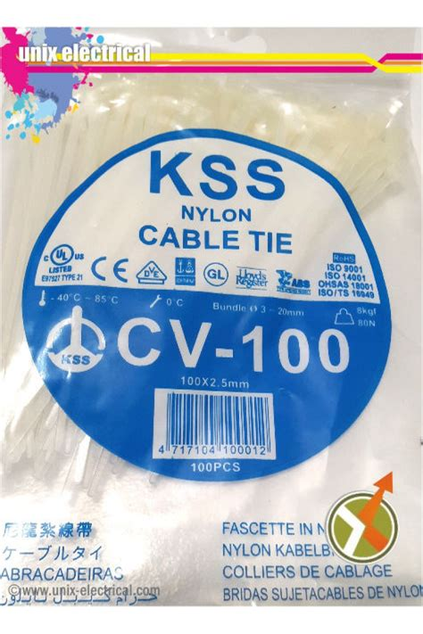 Kabel Ties Cv150 Merk Kss cable ties cv 100 kss