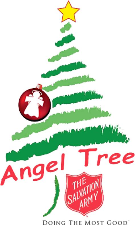salvation army angel tree logo nefl area command salvation army tree
