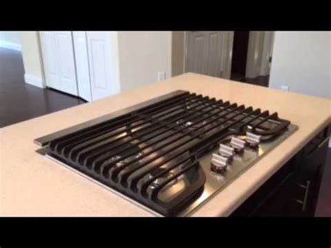 induction cooktop exhaust fan kitchen island cooktop with pop up exhaust fan