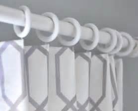 rideaux avec crochets