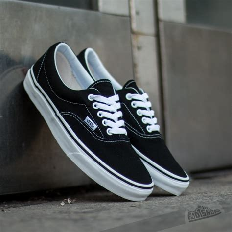 era vans vans era black footshop