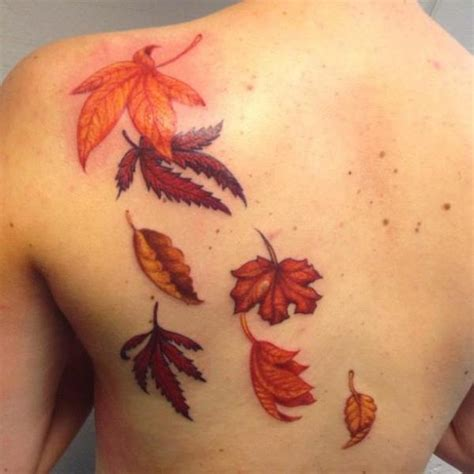 house of leaves tattoo 90 leaf tattoos that celebrate the fall